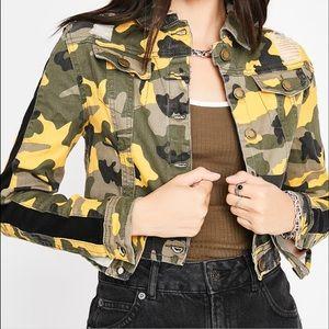 Army Style Jean Jacket